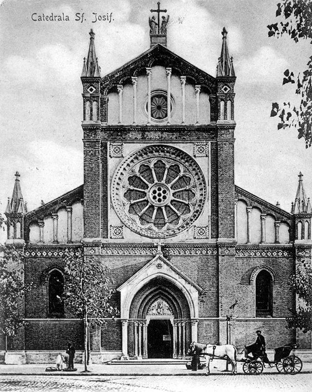 Catedrala Sf. Iosif din București, în anii vârstei de aur