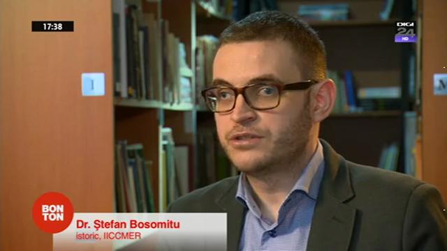 Ștefan Bosomitu, invitatul emisiunii Bonton (Digi24) din 21 decembrie 2014